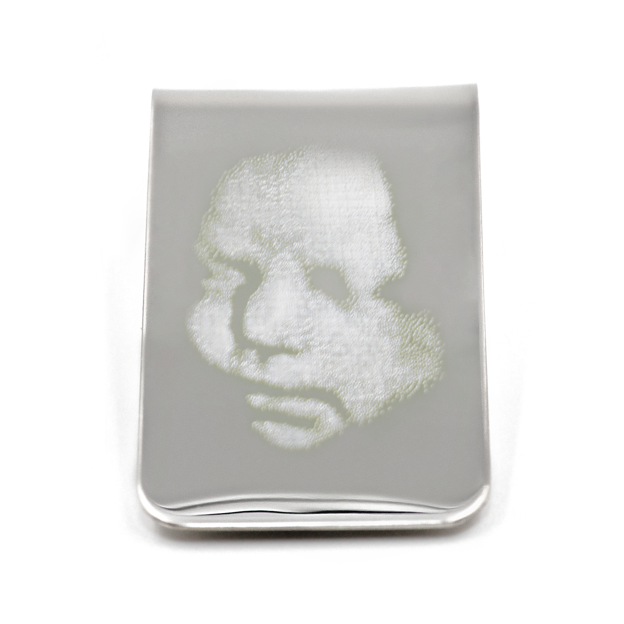 Stainless Steel Photo Money Clip