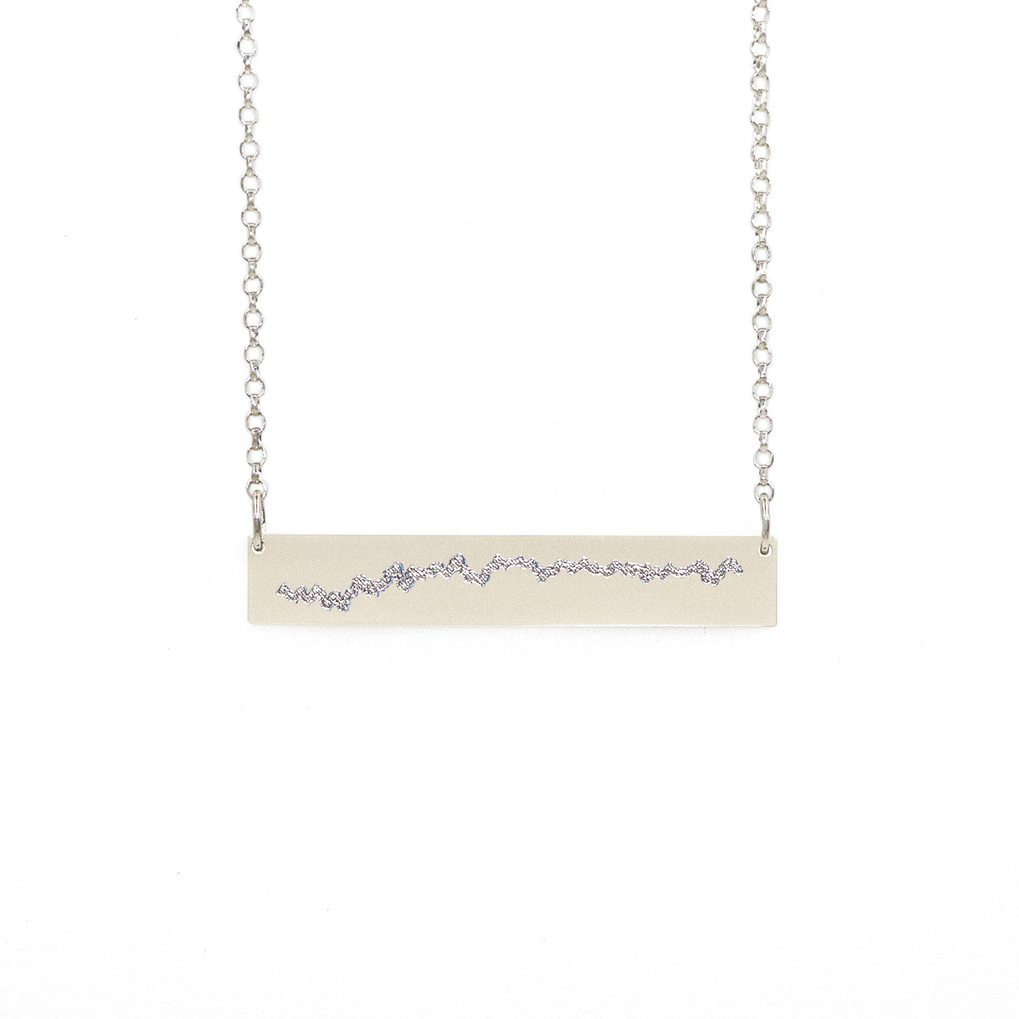 Heartbeat Bar Necklace 0007