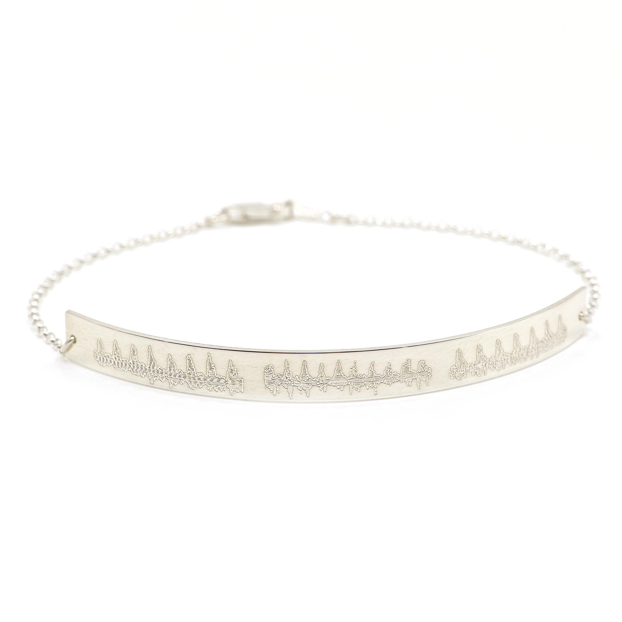 Heartbeat Bar Bracelet 0003