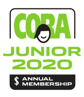 CORA Junior Annual Membership 2020