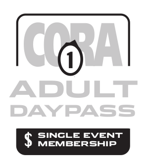 CORA Adult Single Event Membership 2020