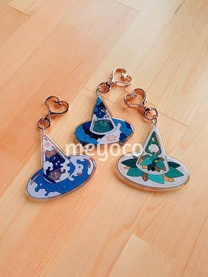 Witch Hat Charms