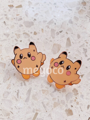 Kirbychu Enamel Pin