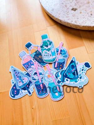 Drinks Eco Paper Sticker Pack