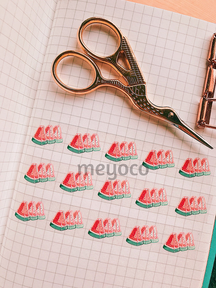 Watermelon Jelly Clear Tape