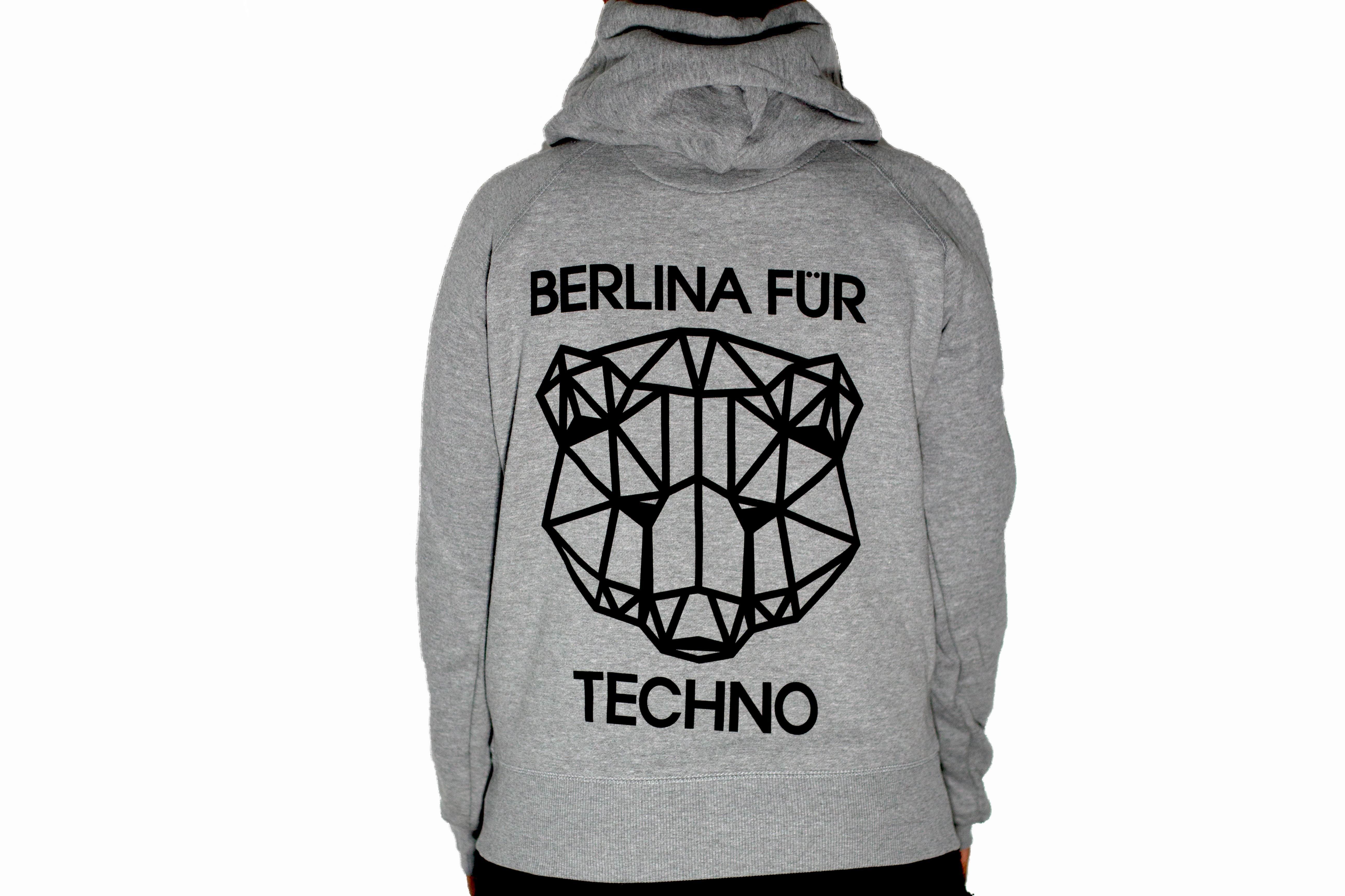 """Hoodie """"BerlinaFürTechno"""""""