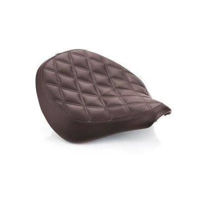 BROWN QUILTED SEAT