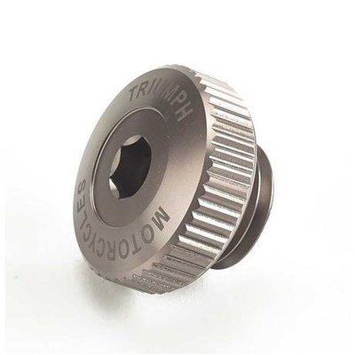 Gunmetal Billet Oil Filler Cap