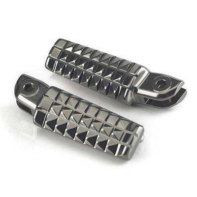 SCRAMBLER-STYLE RIDER FOOTREST