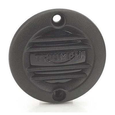 Black Ribbed Inspection Cover