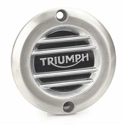 BRUSHED RIBBED CLUTCH COVER