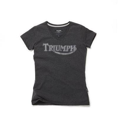Triumph Vintage Logo Tee For Women