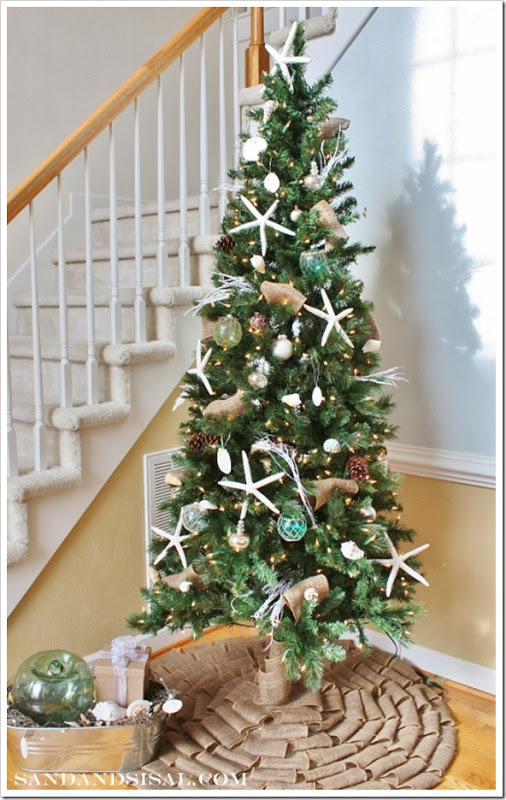 Love the idea of using these on a christmas tree, see image from Sand & Sisal
