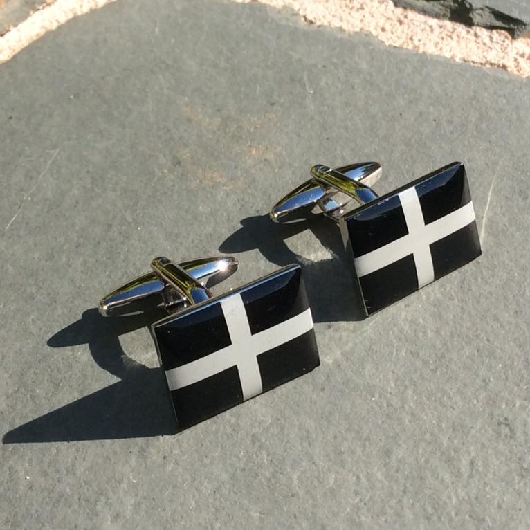 Cornish Flag Cufflinks 00202