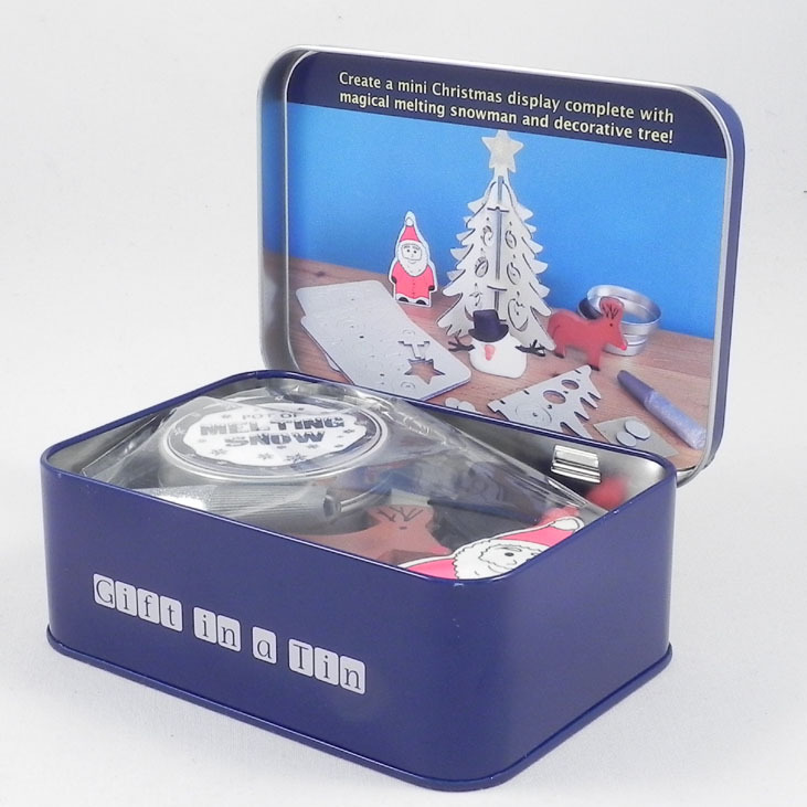 Christmas in a Tin