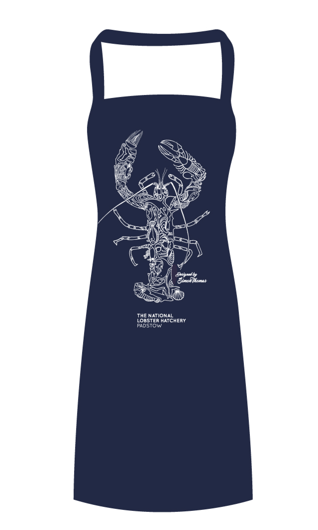 Apron Style Example (Teal Colour in Gift Set)