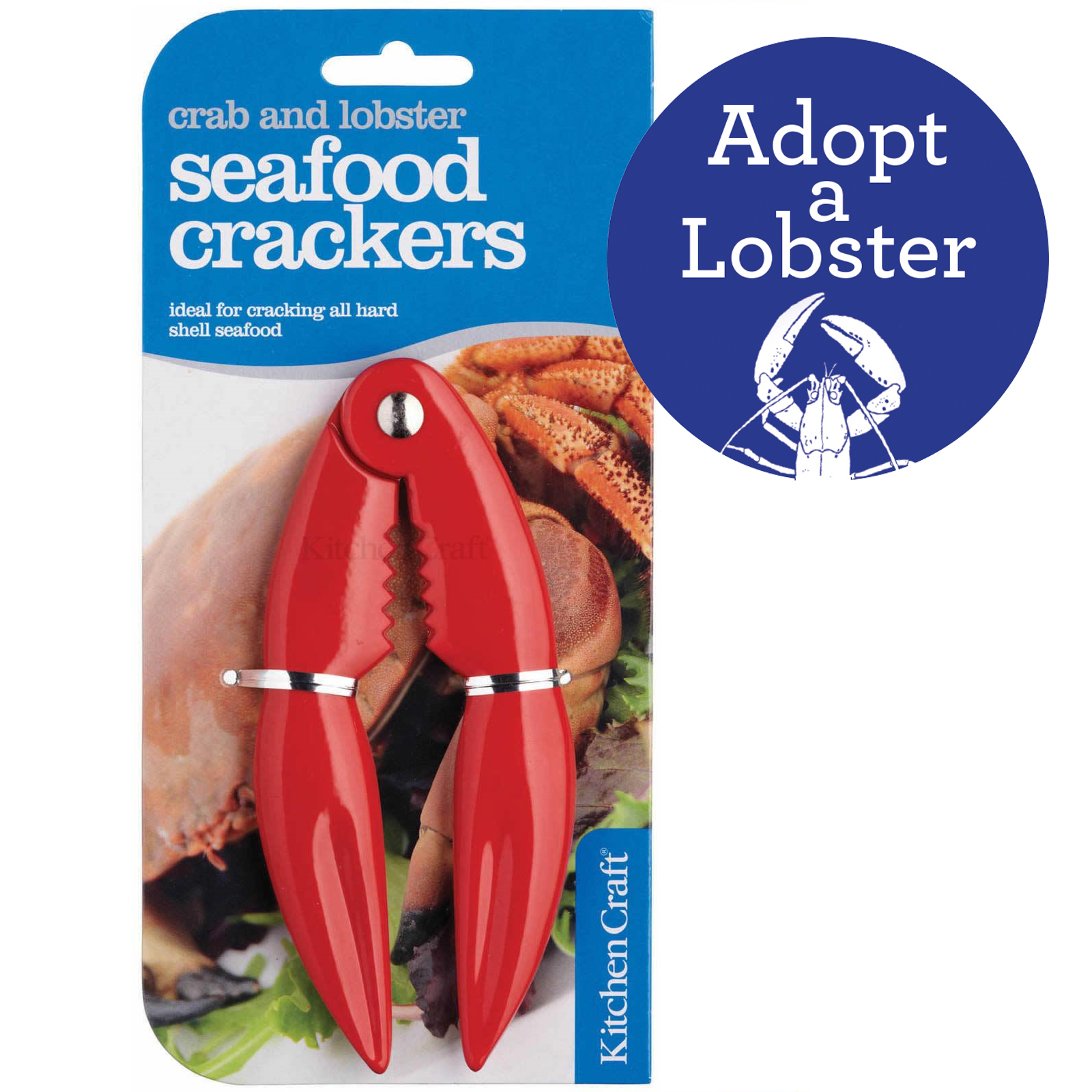 Valentine's Day Special - Adopt a Lobster & Seafood Crackers 00266
