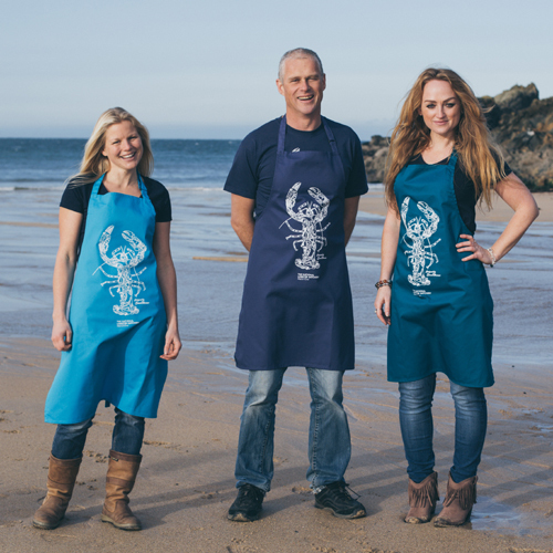 NLH Lobster Mosaic Apron (3 colours)