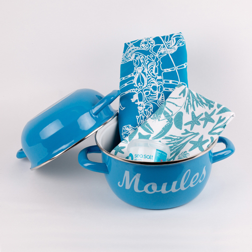 Blue Moules Gift Set