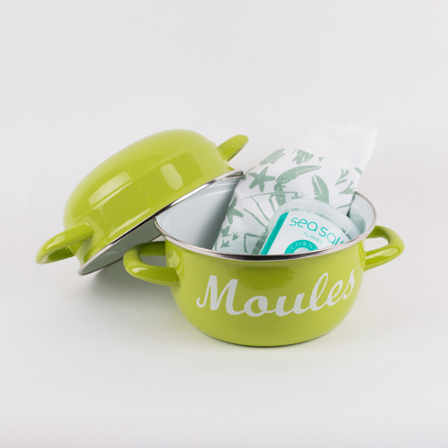 Lime Green Moules Gift Set 00279