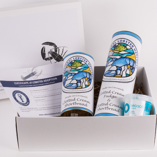 Adopt a Lobster Gift Pack with Cornish Produce 00280