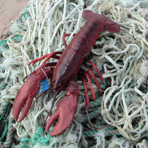 Snappy - Large Lifelike Rubber Lobster Toy 00000013