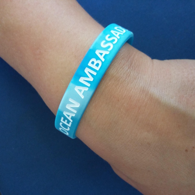 NLH Ocean Ambassador Rubber Wristband