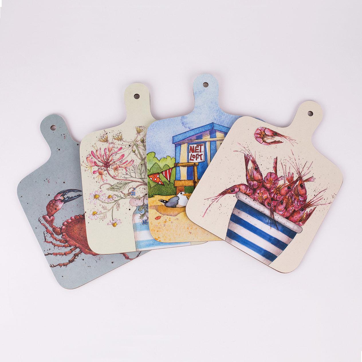 Mini Chopping Board - Various Designs