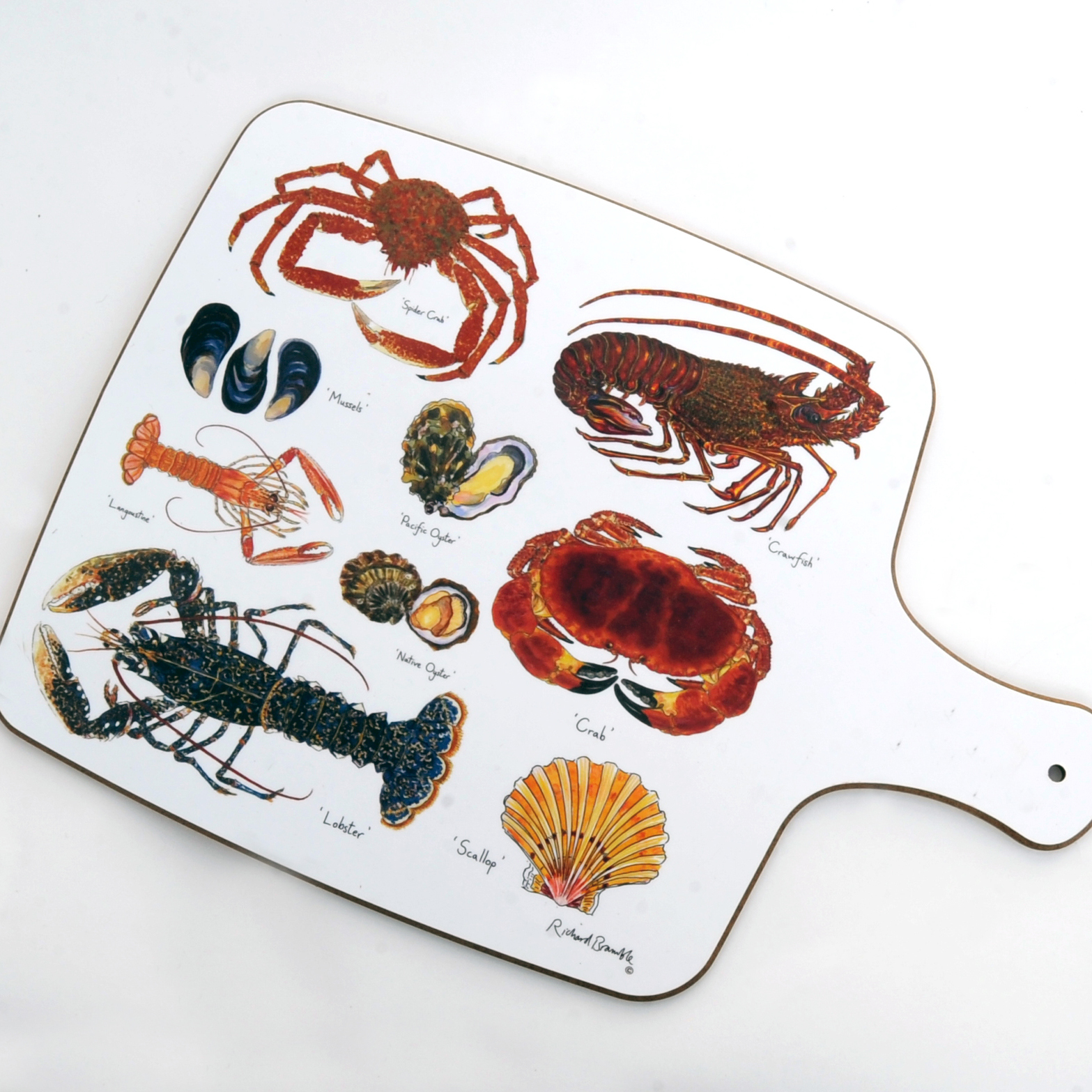 Richard Bramble Shellfish Chopping Board 00080