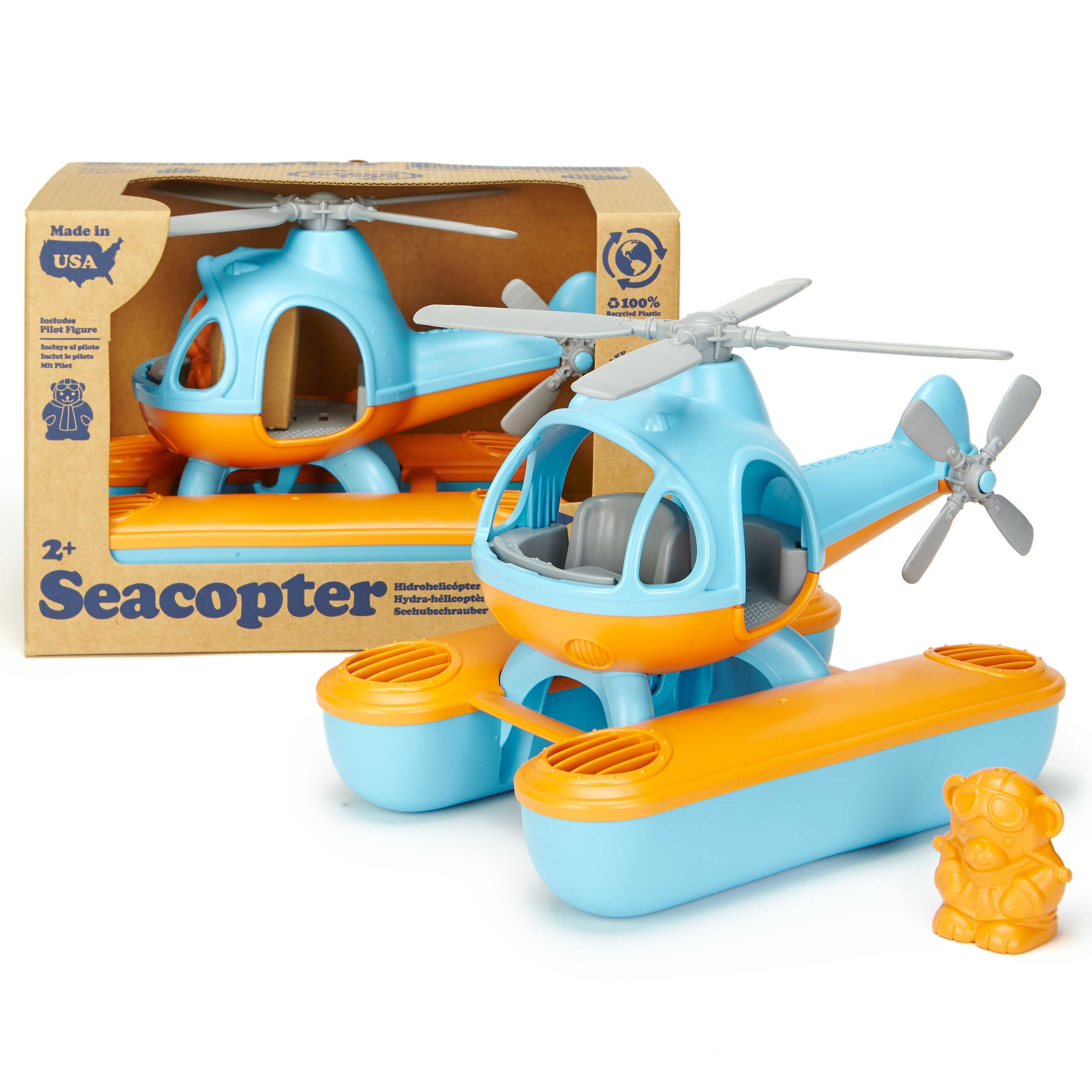 Seacopter (made from 100% recycled milk cartons)