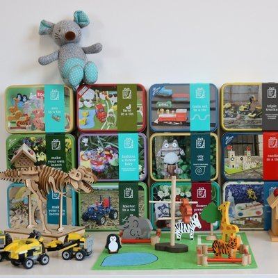 Gifts in a Tin range