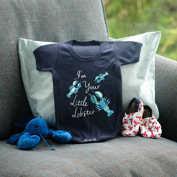 'I'm Your Little Lobster' Baby grow 00330