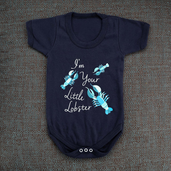 'I'm Your Little Lobster' Baby grow