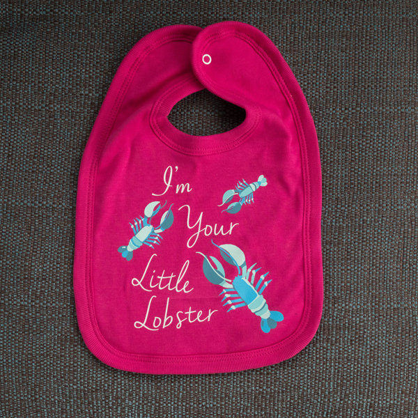 'I'm Your Little Lobster' Bib