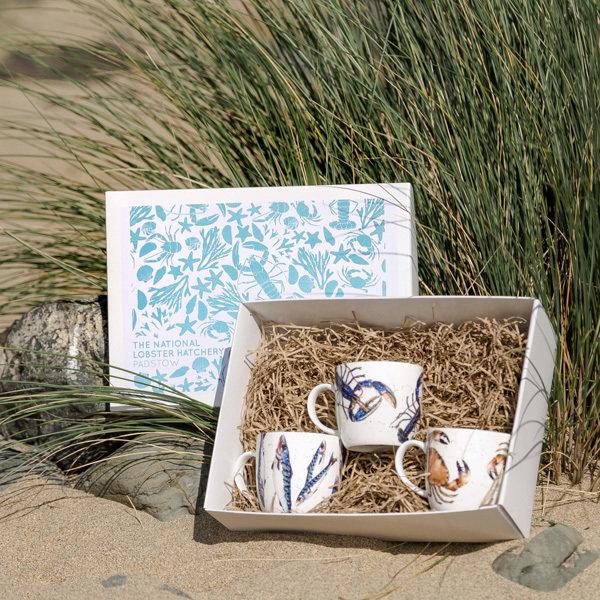 Caroline Cleave designs, Set of 3 mugs 00332