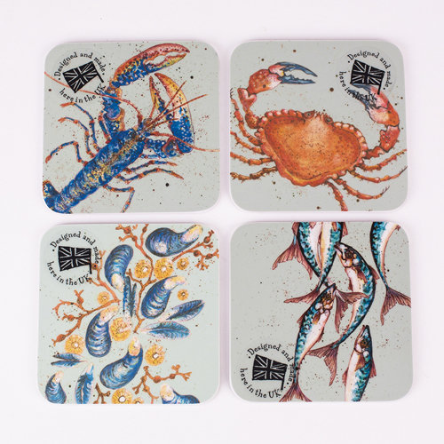 Cornish Coasters by Caroline Cleave