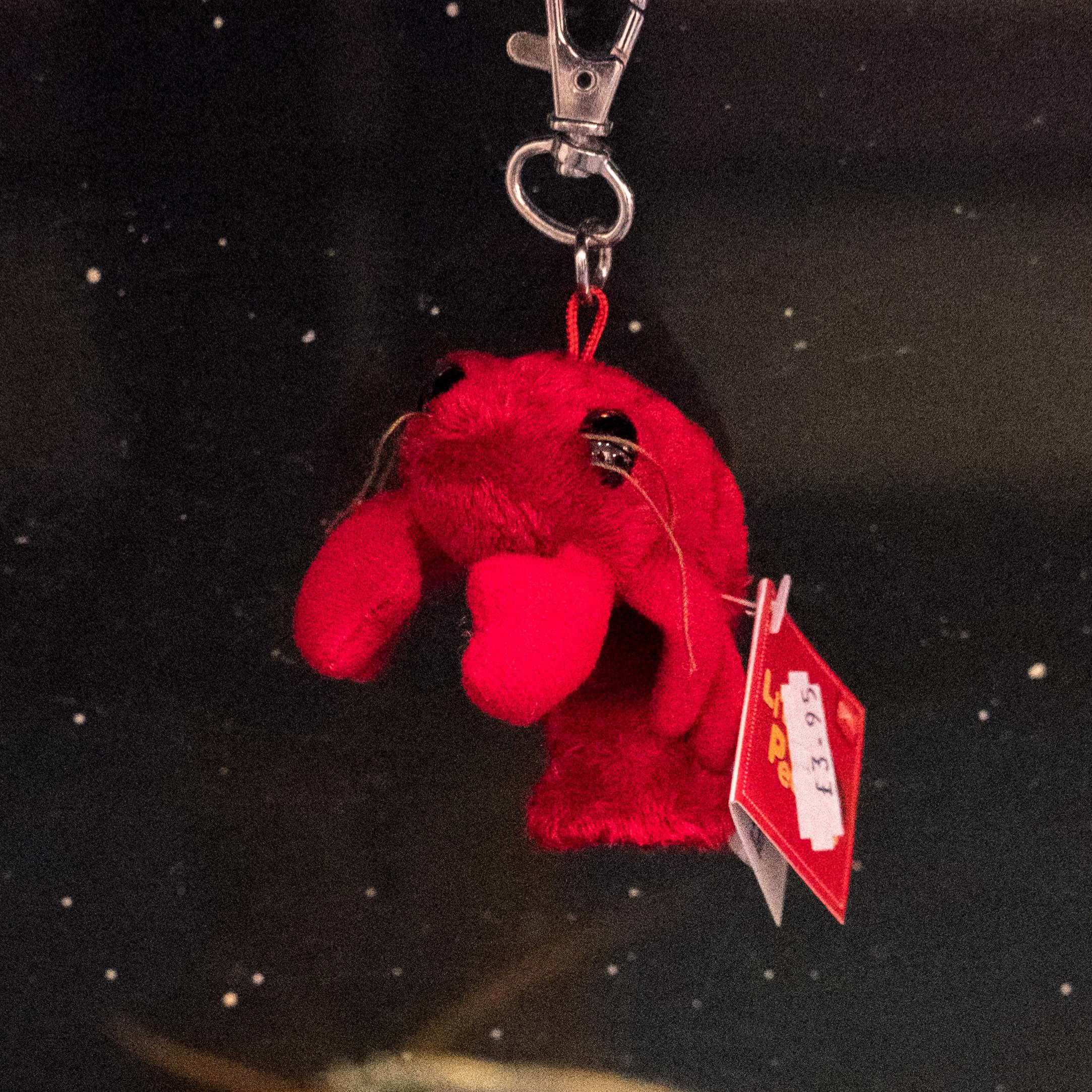Secret Valentine - Adopt a Lobster & Fluffy Lobster Keyring 00351