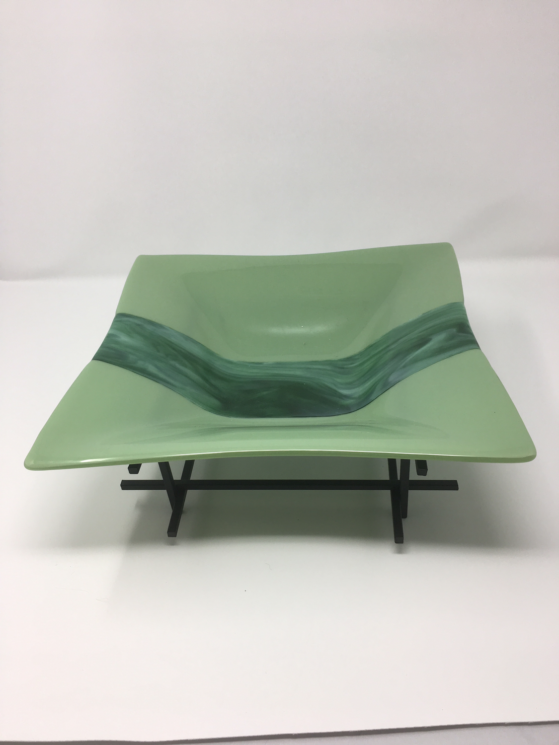 12 x 12 Celadon Green Bowl