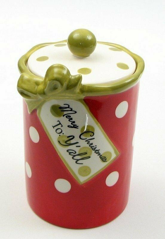 Merry Christmas Y'all Goody Jar