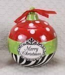 Christmas Ornament Goodie Jar