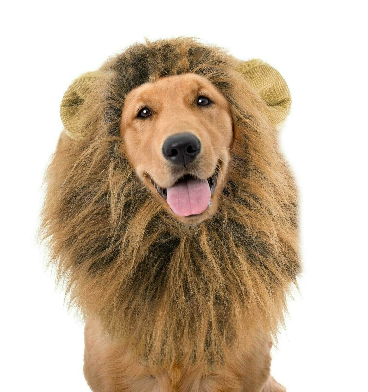 LION'S MANE WIG FOR DOGS