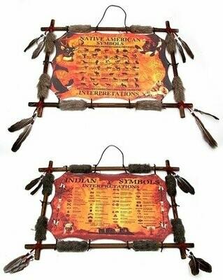 Mandala - Indian Symbols Set of 2