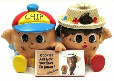 Famous Amos Chip & Cookie Jar