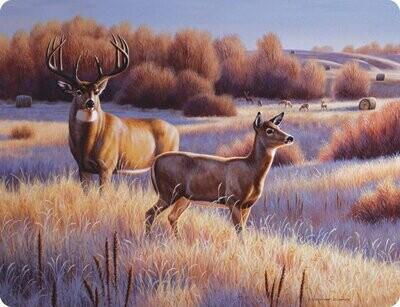 Deer Cutting Board