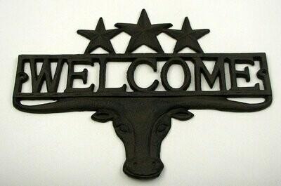 Steer 3 Star Welcome Plaque