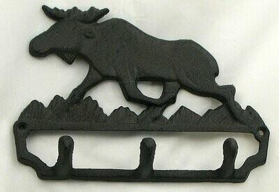 Cast Iron Moose Hook
