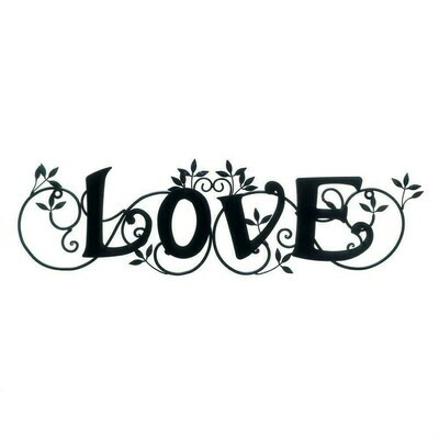 LOVE WALL PLAQUE