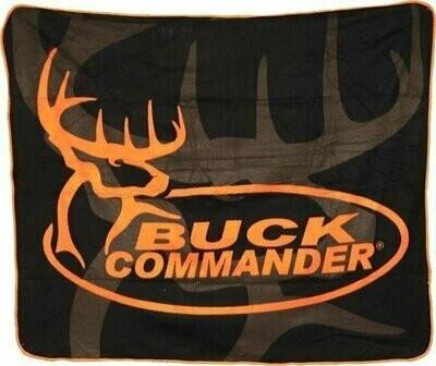 Orange Buck Commander Throw