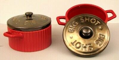 Big Sky Shotgun Shell Soup Bowls Set of 2