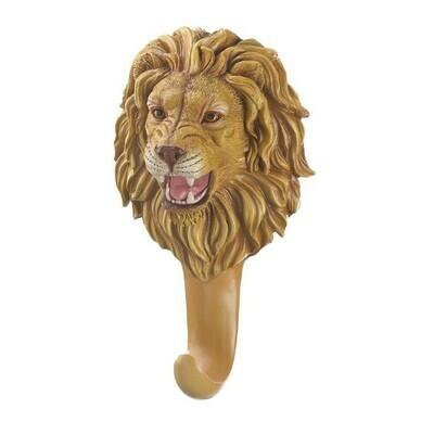 FEROCIOUS LION WALL HOOK